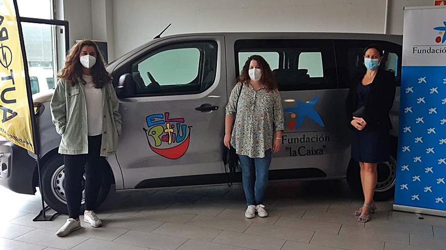 La asociación El Patiu estrena vehículo