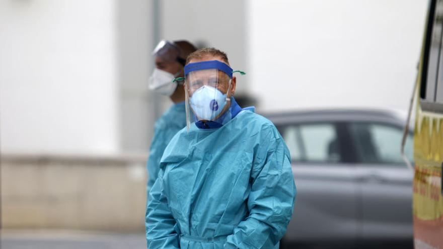El SAS instala test rápidos de coronavirus en el centro de salud de La Roca