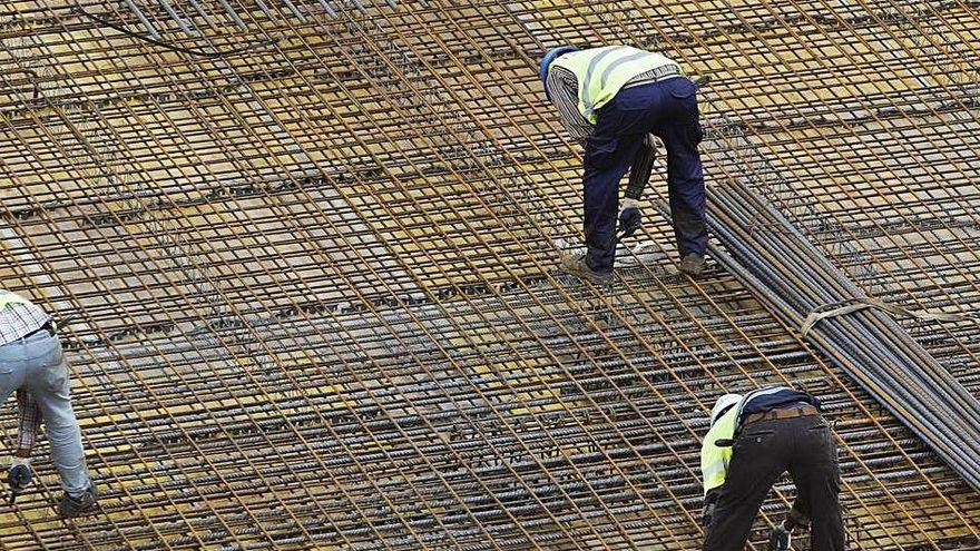 La construcció es recupera durant el maig amb un 89% més de contractes a Girona