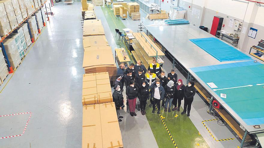 La eldense Incom abre una nueva fábrica en Marruecos