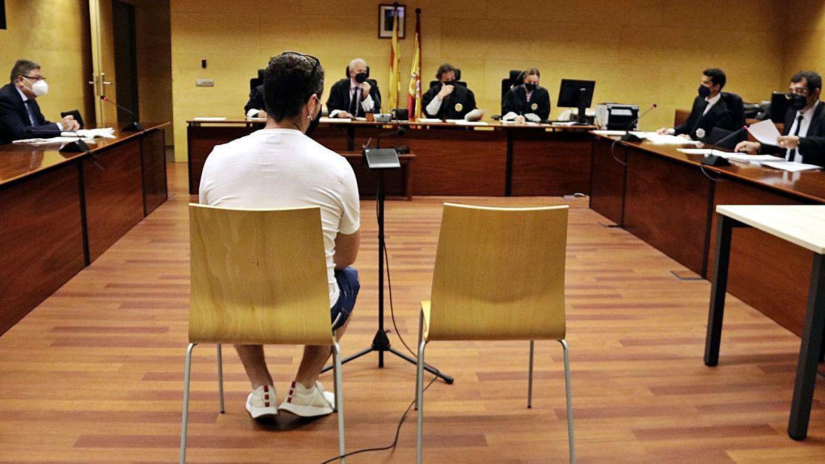 Imatge d'un judici a l'Audiència de Girona