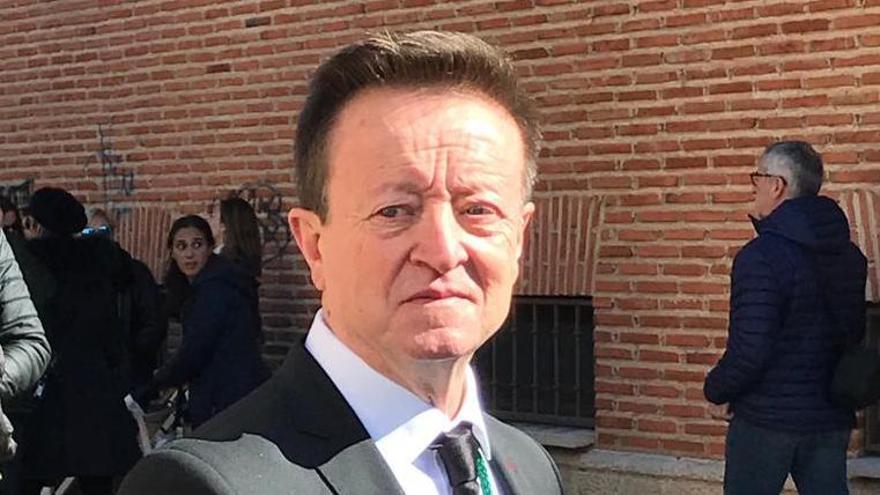 Juanjo Ferrero, jefe de paso de Las Tres Marías.