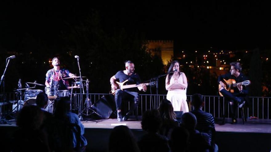 El flamenco se apodera de la terraza del Centro de Recepción de Visitantes