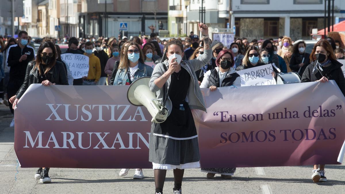 Varias mujeres en una manifestación en 2019.