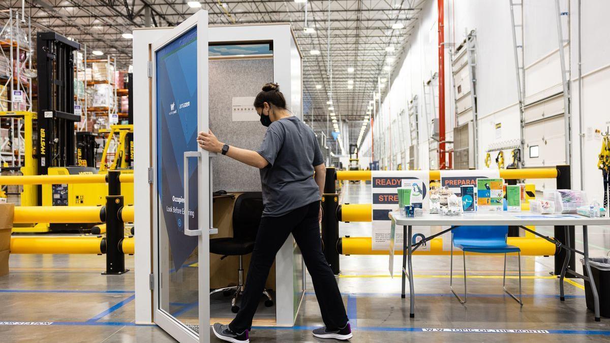 AmaZen, los cubículos de relajación que Amazon instalará en sus centros