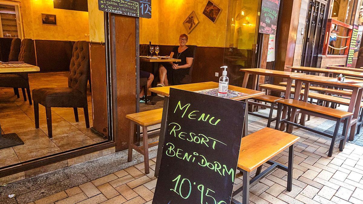 Uno de los establecimientos hosteleros de Benidorm adherido a la iniciativa de «Benidorm Resort».