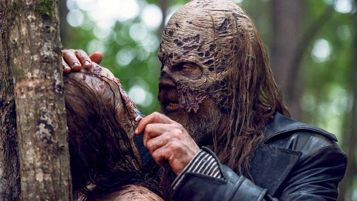 Beta en la serie The Walking Dead.