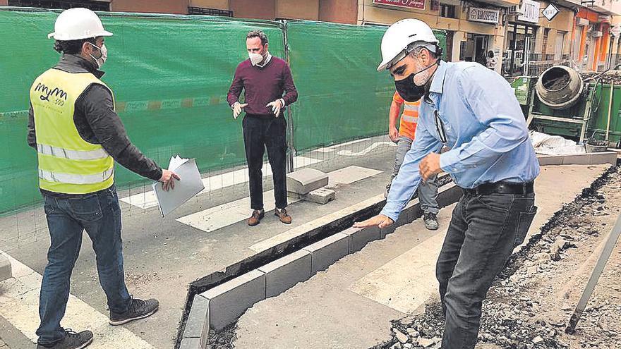 La mejora de varias calles de San Gregorio conlleva el cierre del tráfico