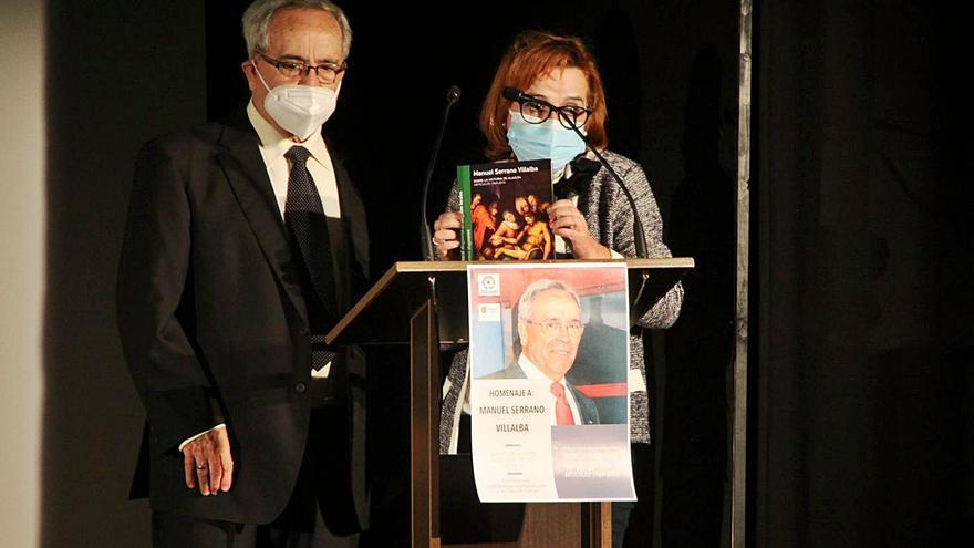 Acael rinde un justo homenaje al profesor Manuel Serrano Villalba