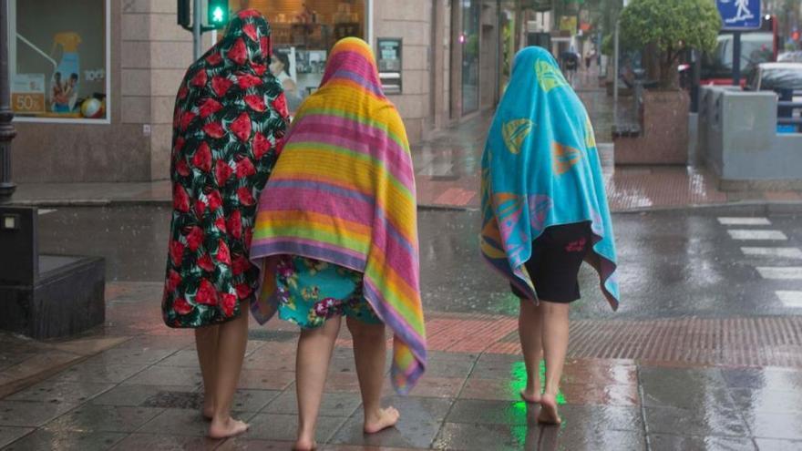 El tiempo en Alicante: alerta amarilla este sábado por lluvias y tormentas en toda la provincia