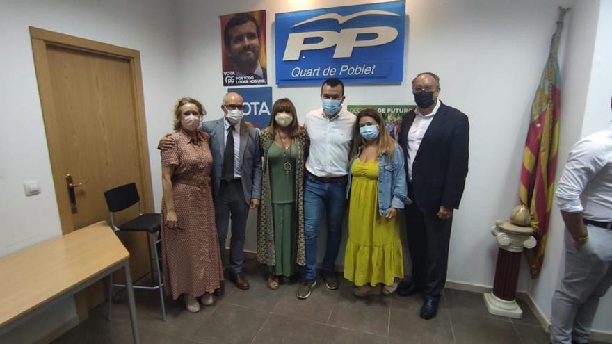 El PP de Quart de Poblet reelige a Amparo Mora como presidenta