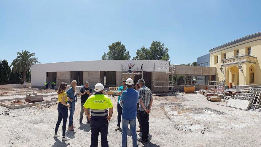 El centro de alzhéimer La Pineda, a punto de acabar la remodelación