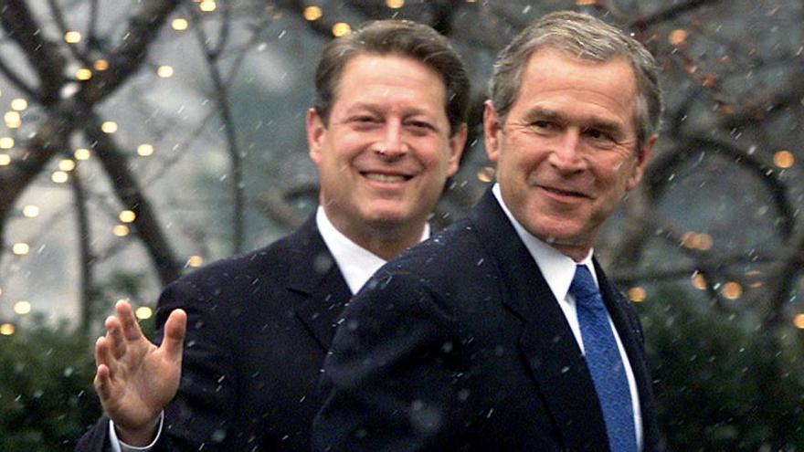 Cuando Gore perdió ante Bush por 537 votos