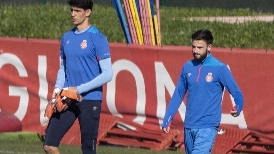Borja García té molèsties a la cicatriu de la lesió muscular i Roberts torna a la gespa