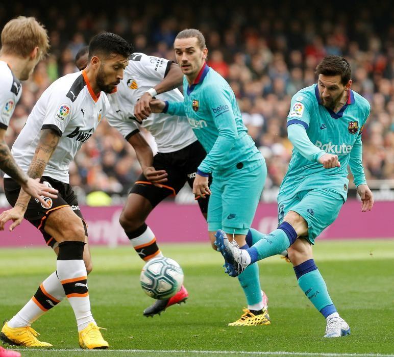 Liga: Valencia CF-FC Barcelona