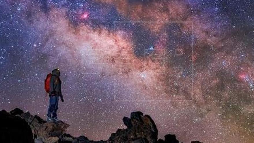 El impresionante cielo nocturno de 'Cosmoislas'