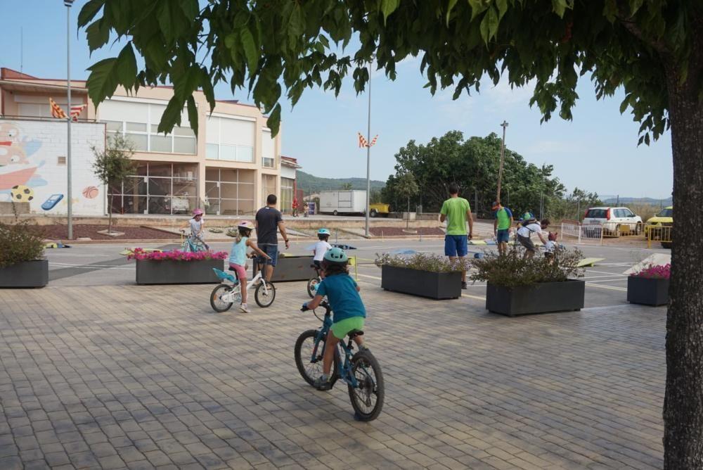Circuit infantil de bicicletes a càrrec de Dinamic Guie en el marc de la Festa Major de Sant Salvador de Guardiola 2020