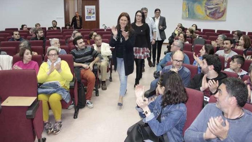 Carme da Silva defiende la gestión gallega del puerto y el saneamiento de la ría