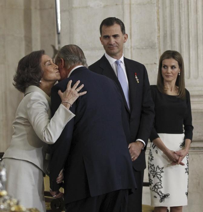 La abdicación de Juan Carlos