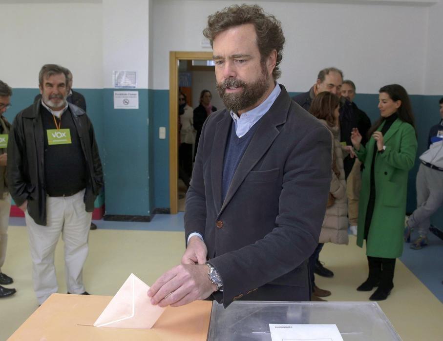 Votaciones elecciones generales