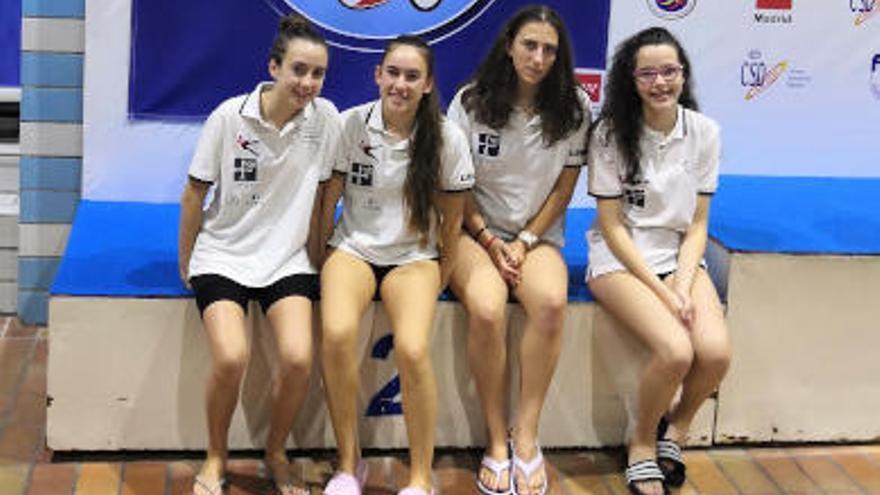El Sincroviedo, presente en el campeonato de España