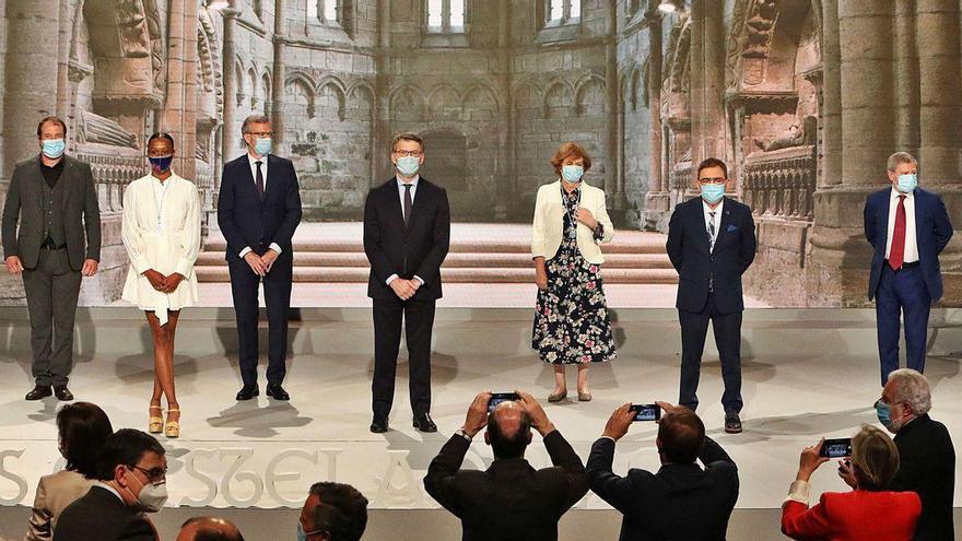 """La Xunta homenajea en las Medallas Castelao las """"hazañas"""" de los gallegos en la pandemia"""