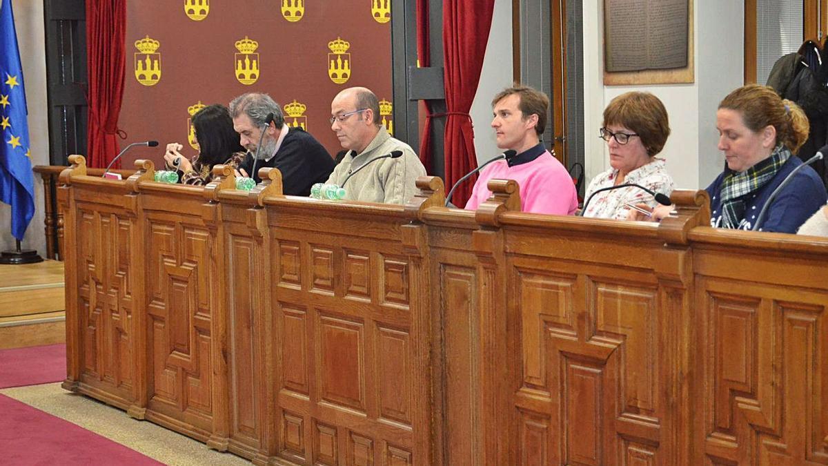 Grupo municipal del PP de Benavente.   E.P.