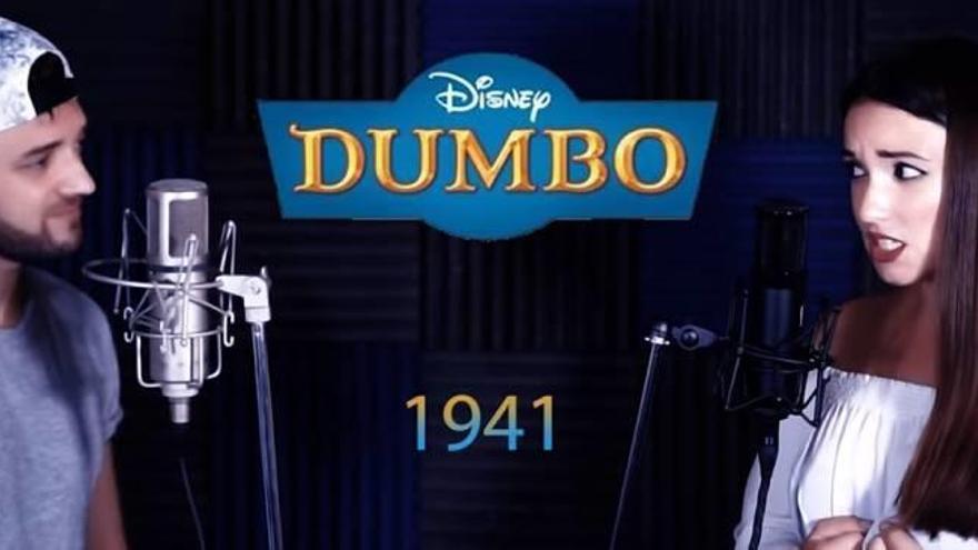 Dos alicantinos triunfan en Youtube con versiones de canciones de Disney