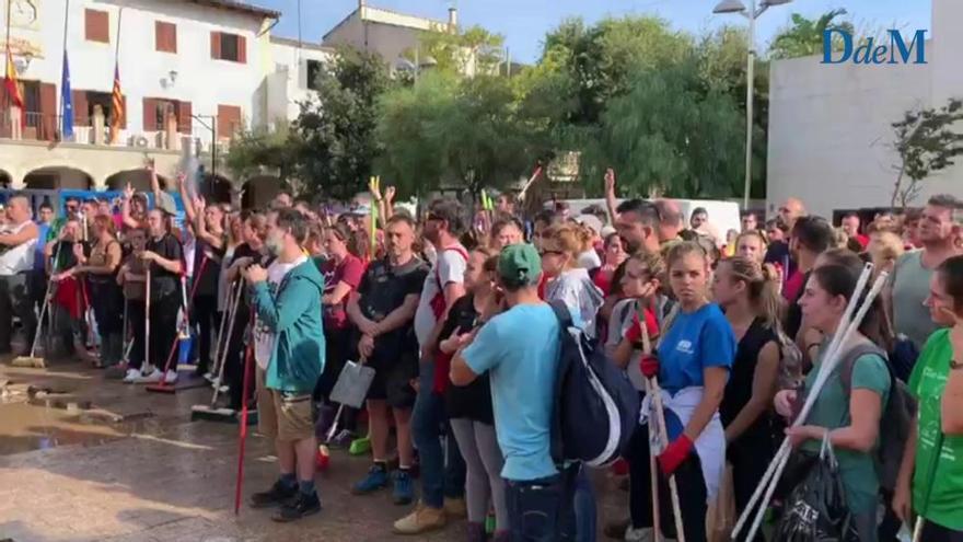 Sant Llorenç agradece la ayuda de voluntarios y profesionales tras riada de 2018