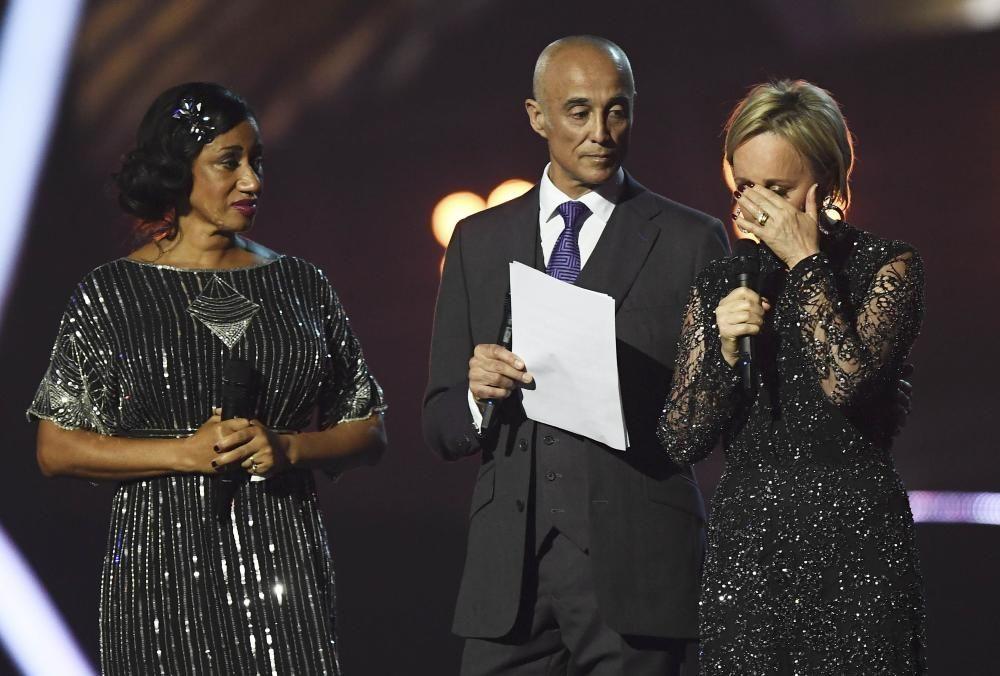 Gala de entrega de los premios Brit