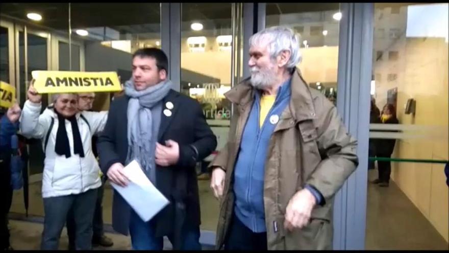 La jutgessa de guàrdia denega l'habeas corpus a Junqueras, presentat aquest matí a Manresa