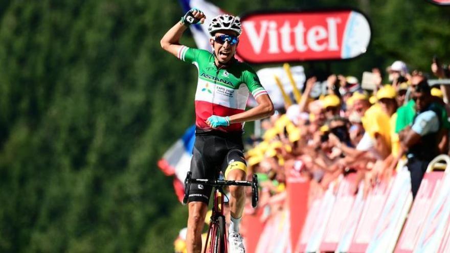 Un atac bestial de Fabio Aru decideix el primer final en alt del Tour de França