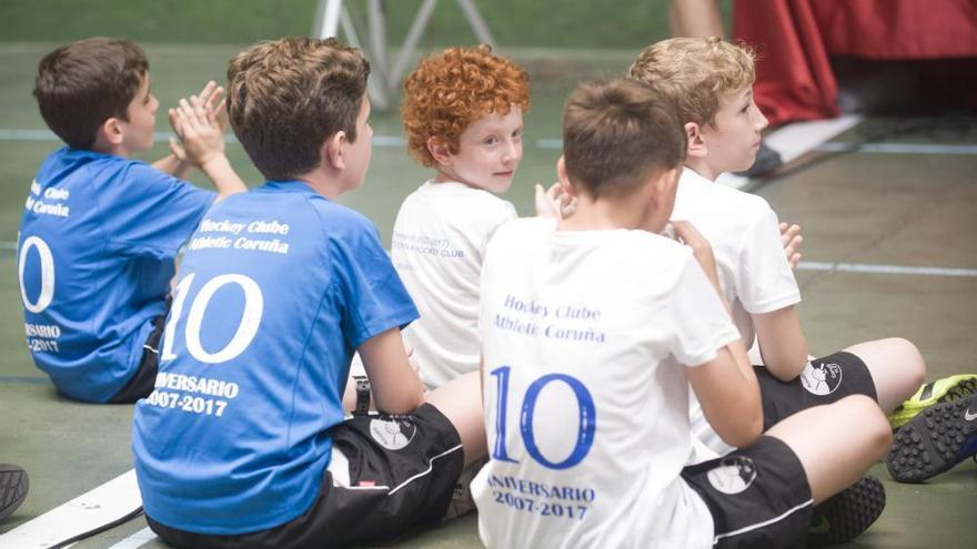 Fiesta por los diez años del Athletic Coruña