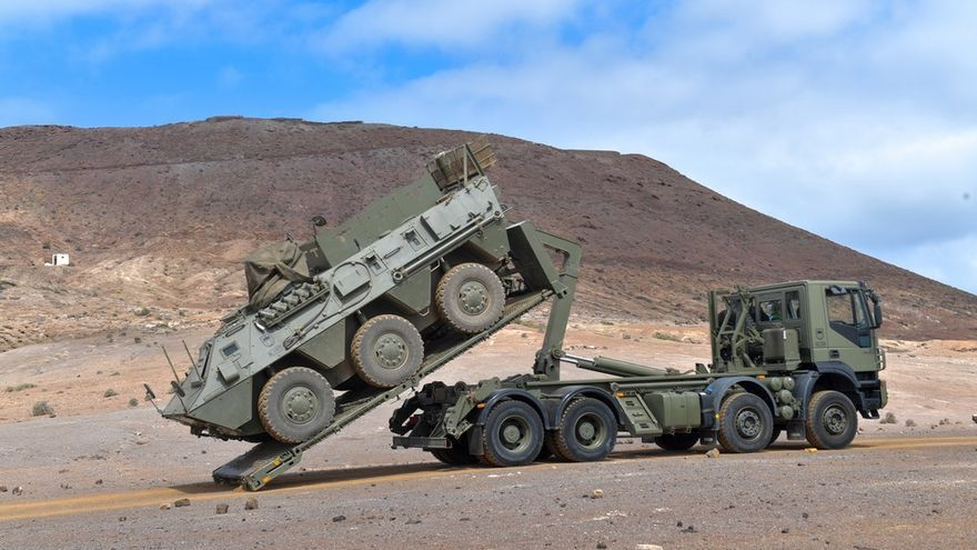 La Brigada 'Canarias' XVI, preparada para su despliegue en el Líbano