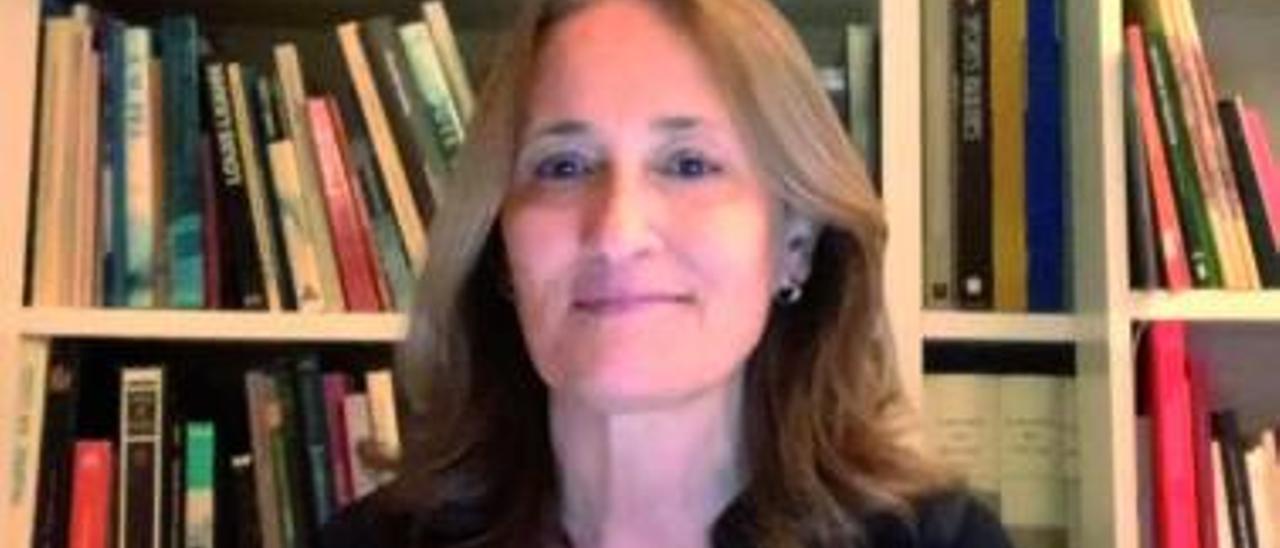 A arquitecta e única española na dirección da Unión Internacional de Arquitectos, Teresa Táboas, nunha foto recente.