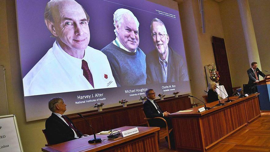 El Nobel de Medicina reconoce a los descubridores del virus de la hepatitis C
