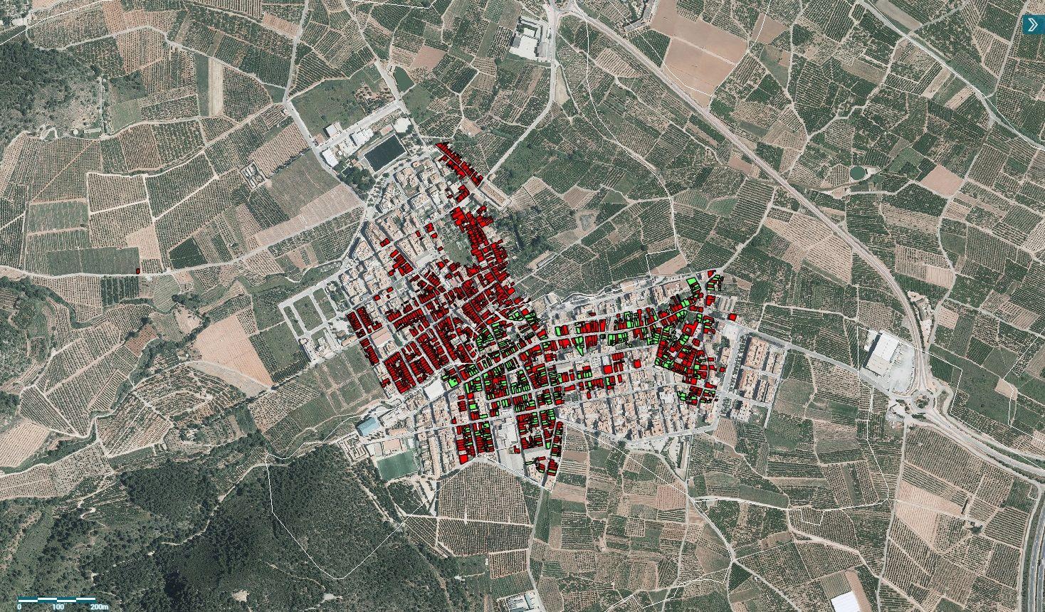 Captura del visor del IEEV.CV del Institut Cartogràfic Valencià