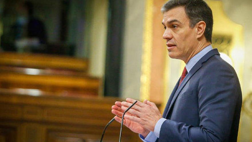 Sánchez, convençut que caldrà ampliar l'estat d'alarma fins l'11 de maig