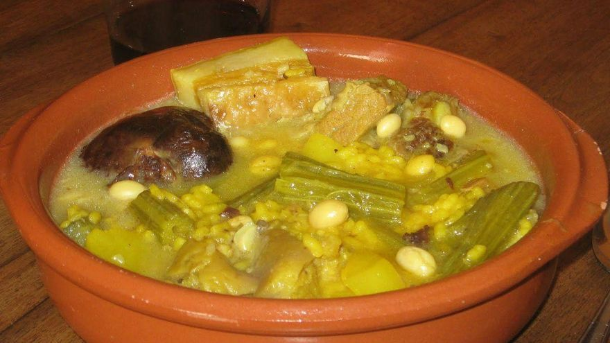 Olla de la Plana, un plato sabroso y consistente, muy tradicional en Castellón