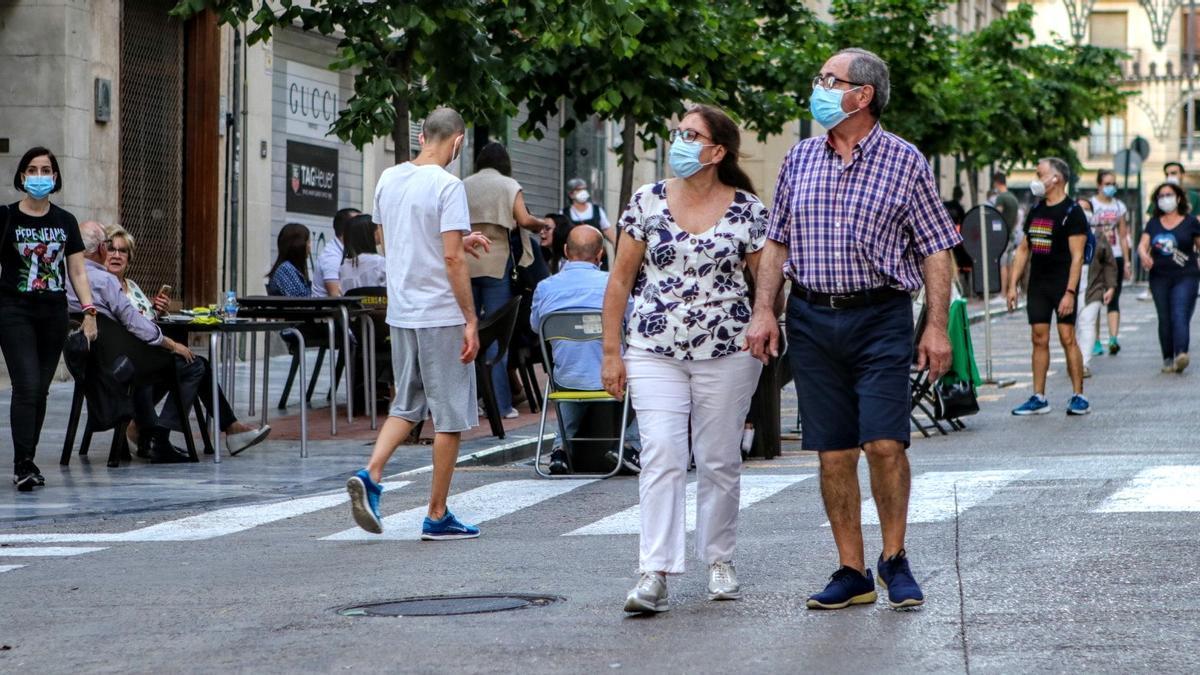 La calle San Lorenzo ya se cierra los fines de semana