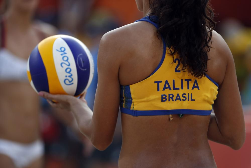 Competencias de voleibol de playa