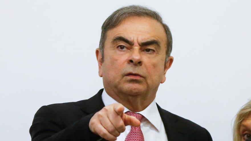 Carlos Ghosn denuncia persecución política de Nissan y de la Fiscalía japonesa