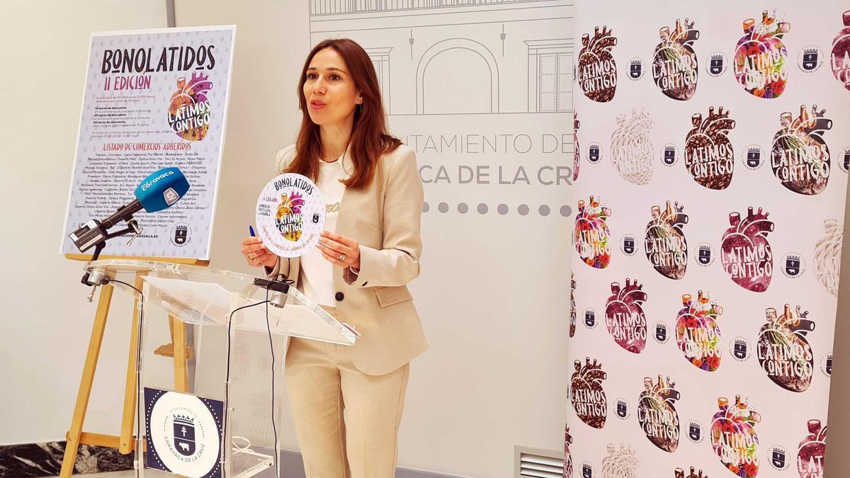 La concejal Ana Belén Martínez presenta la campaña