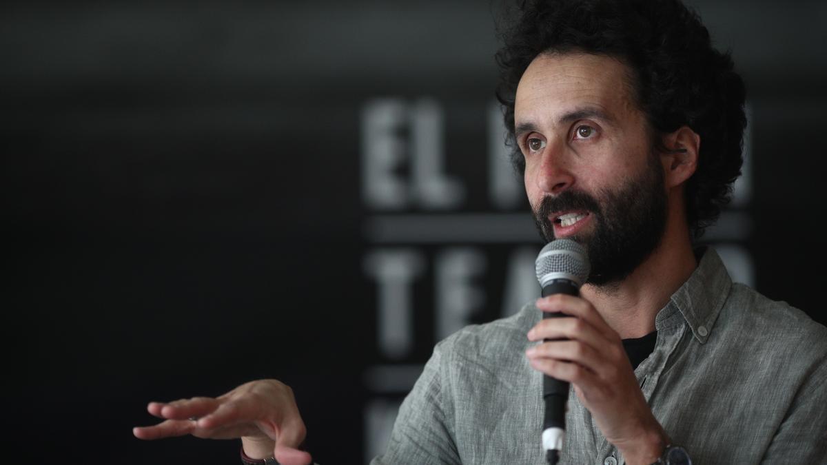 El escritor Pablo Remón.