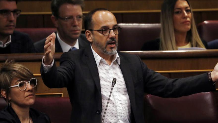 Campuzano substitueix Homs com a portaveu del PDeCAT al Congrés