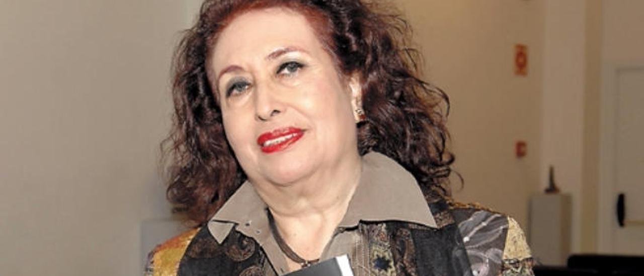 Lidia Falcón.