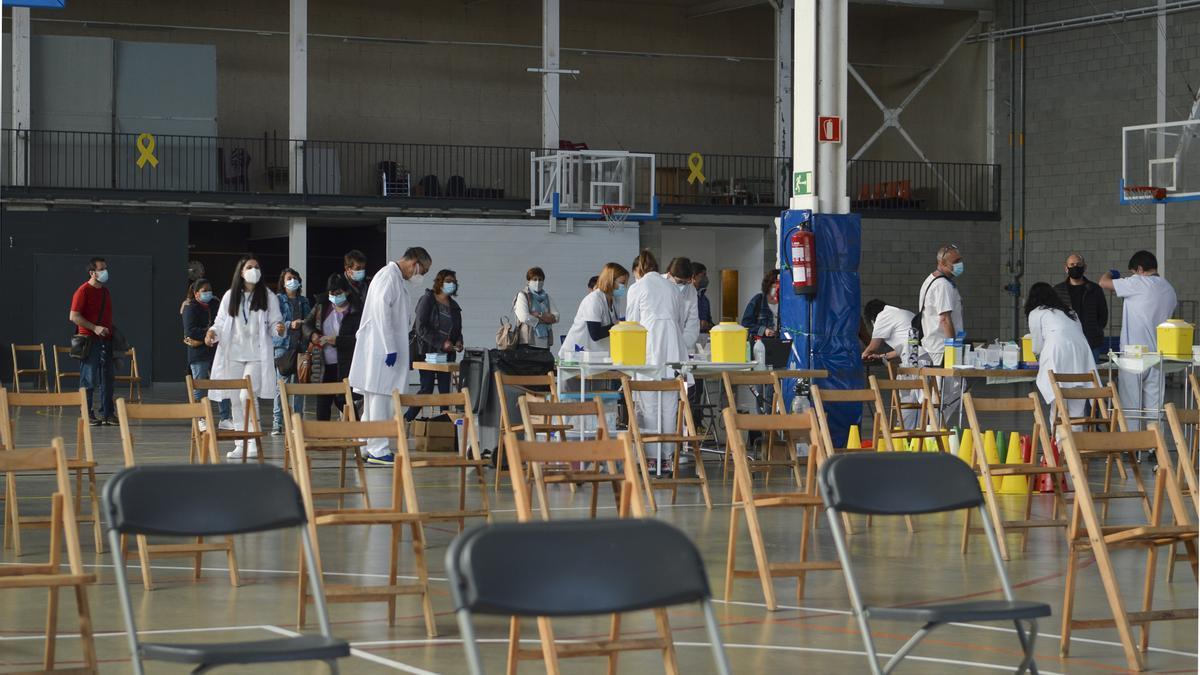 Jornades de vacunació contra la Covid-19 sense cita prèvia a la Regió Sanitària de Girona