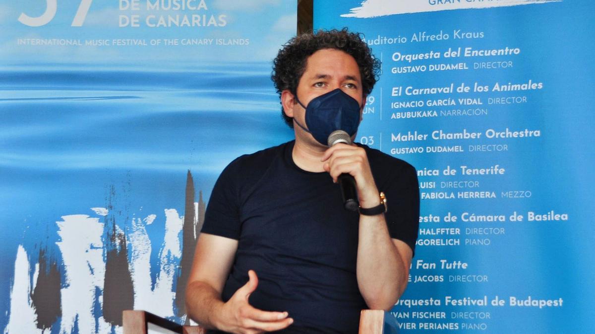El director Gustavo Dudamel. | | E.D.