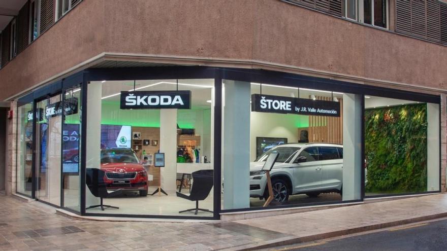Skoda inaugura en Valencia su primer City Store
