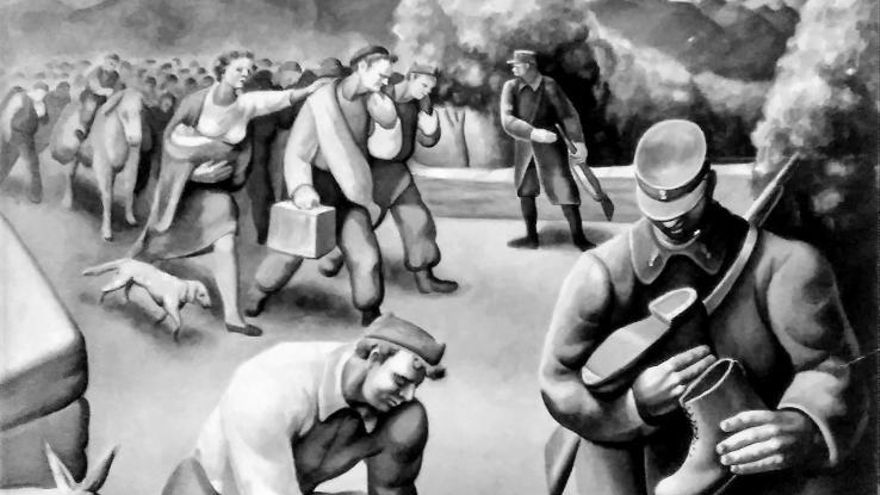 Guerra, represión e exilio